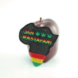 Ecusson Afrique Jah Rastafari