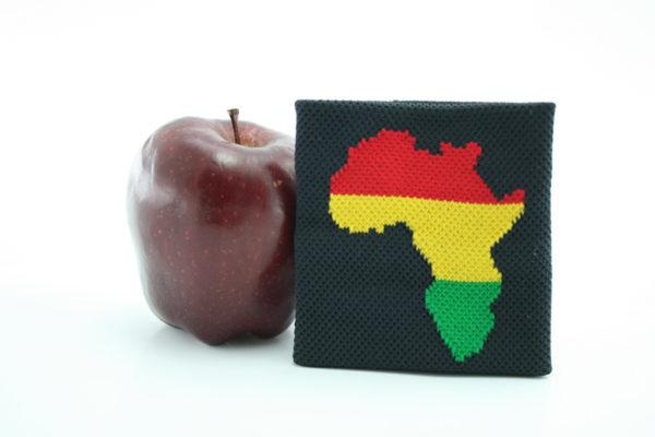 Bandeau de Poignet Afrique Couleurs Rasta