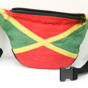 Sac Banane Chanvre Jamaïque Vert Jaune Rouge