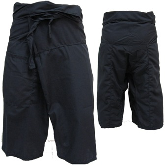Pantalon Pêcheur Thaï Noir