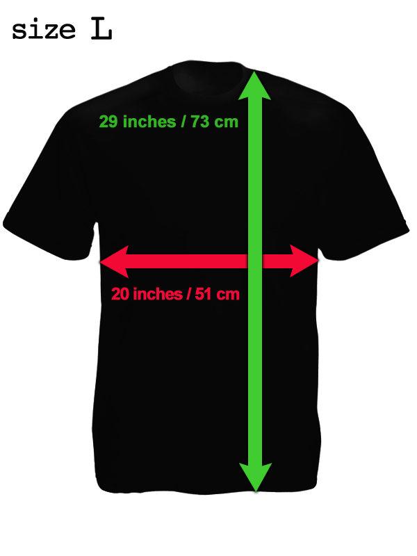 Tee-shirt Pattaya Noir Good Guys Go to Heaven Bad Guys go to Pattaya