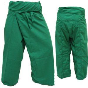 Pantalon Pêcheur Thaï Vert Foncé