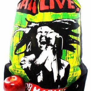 Sac à Dos Jah Live Fermeture Ficelle Tissus Léger Résistant