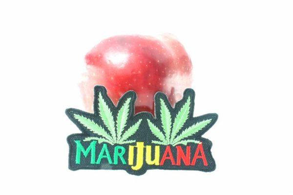 Ecusson Marijuana