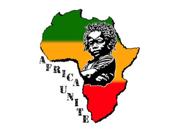 Africa Unite T-Shirt Blanc Rasta à Manches Courtes pour Homme