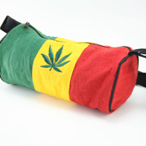 Sac Chanvre Tube Petite Taille Feuille Cannabis