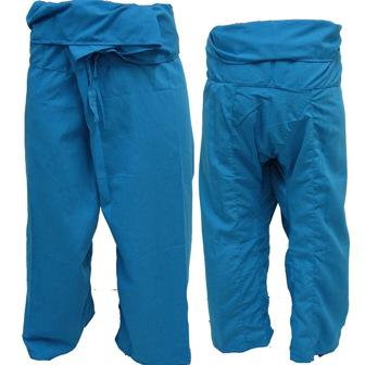 Pantalon Pêcheur Thaï Bleu Clair