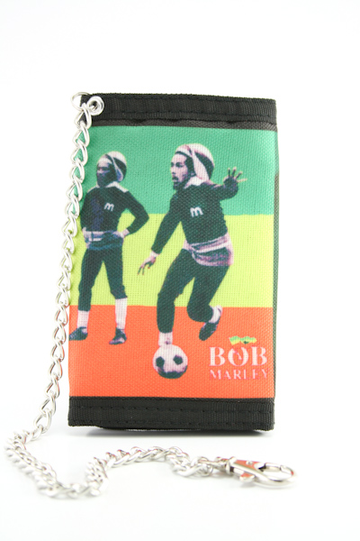 Portefeuille Tissu Chaîne Rastaman Football