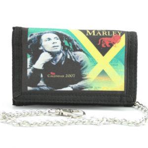 Portefeuille Tissu Chaîne Drapeau Jamaïque