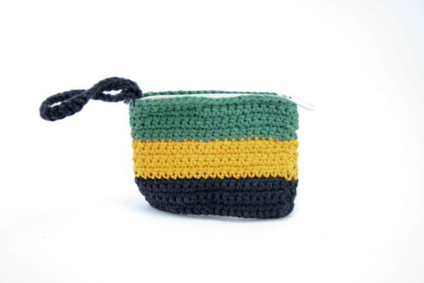 Porte-monnaie Drapeau Jamaïcain Zip