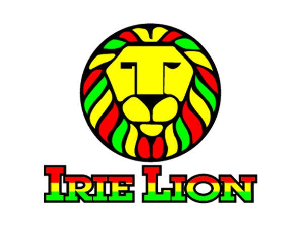 Rastafari Tee Shirt Blanc Coton Lion de Juda Col Rond