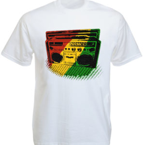 Tee Shirt Blanc Sono pour Ecouter Roots Reggae Taille L
