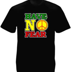 T-Shirt Noir Style Rasta Reggae Dennis Brown Taille Large en Coton