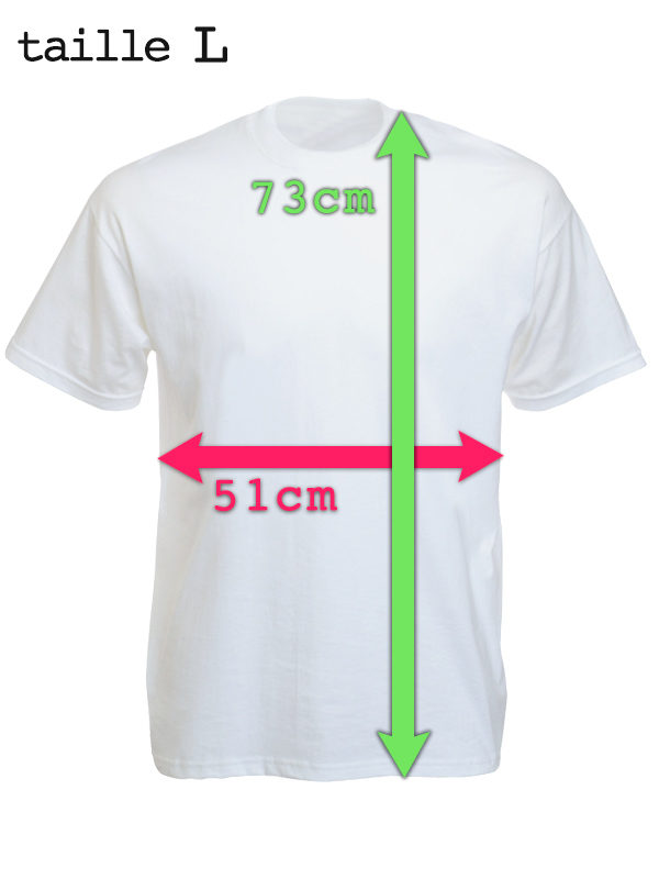 Tee Shirt Homme Ghetto Youth Blanc Manches Courtes Taille L
