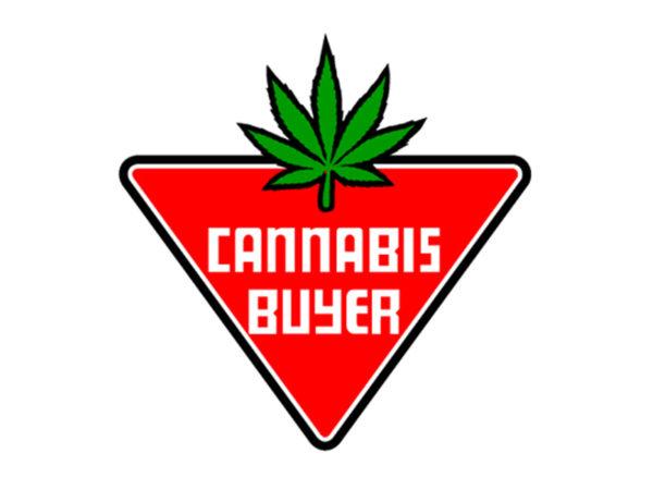 T-Shirt Blanc Cannabis Buyer Acheteur de Cannabis Manches Courtes