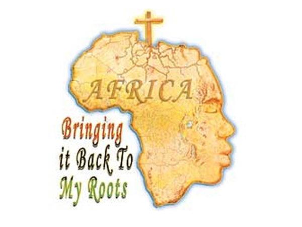 Tee Shirt Blanc en Coton Message Rasta Retour aux Origines en Afrique