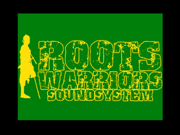 T-Shirt Noir Sound System Reggae Dub Dancehall pour Homme