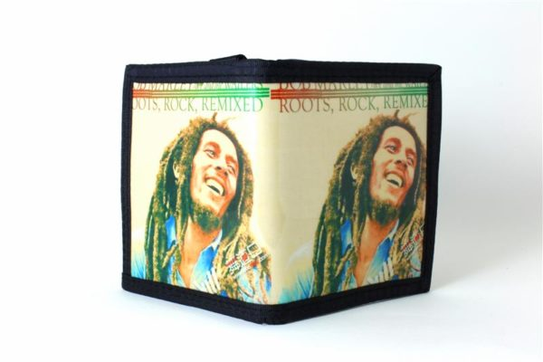 Portefeuille Vinyl Rastaman Roots Rocks Remixed